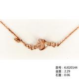 18K金钻石手链KJ020144